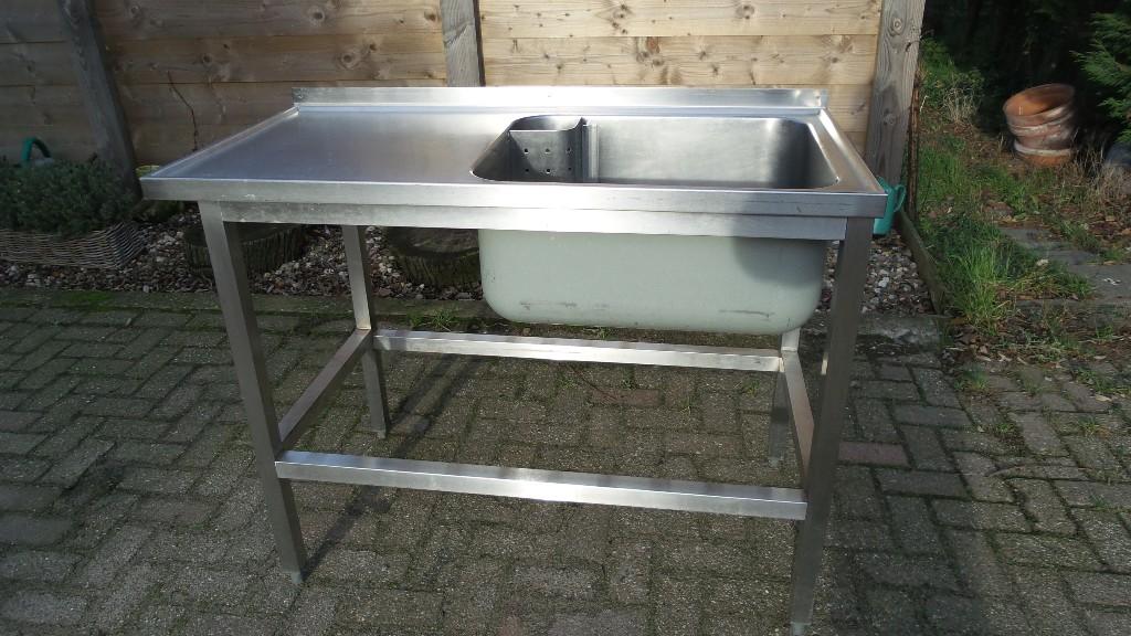 Wasbak 1 Meter : Rvs wasbak ackersdijk bakkerijmachines